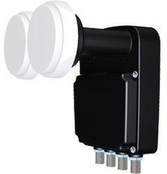 Inverto Black Pro Quad Monoblock 23mm LNB 4.3°