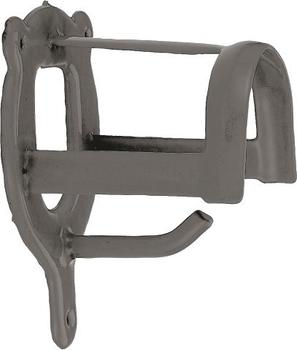 Kerbl Trensenhalter Metall dunkelgrau (32885)