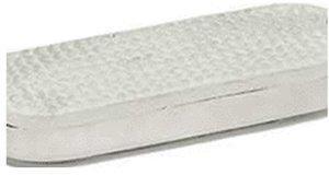 USG United Sportproducts Weiße Gummipads für Steigbügel 12 cm