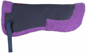 Horze Kunstfell-Pad purpur