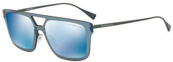 Emporio Armani EA2048 3173/55 (matte green/dark blue mirror blue)