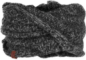 Buff Knitted Wrap Agna black
