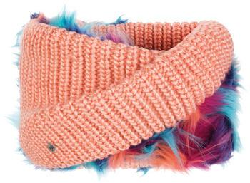 Buff Knitted Wrap Dania peach