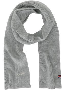 Tommy Hilfiger Effortless Knit Scarf light grey heather (AW0AW05927)