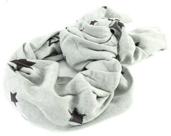 Tommy Hilfiger Tommy Star Sequins Scarf light grey heather (AW0AW05920)