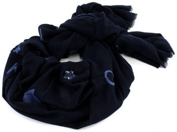 Tommy Hilfiger Tommy Star Sequins Scarf navy (AW0AW05920)