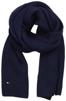 Tommy Hilfiger Cotton-Cashmere Scarf sky captain