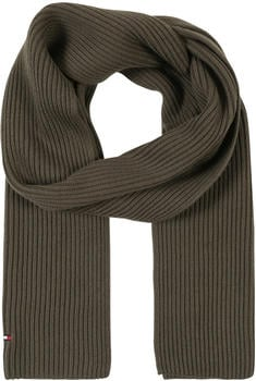 Tommy Hilfiger Cotton-Cashmere Scarf grape leaf
