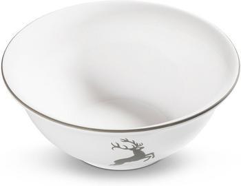 Gmundner Salatschüssel 26 cm grauer Hirsch