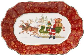 Villeroy & Boch Toy's Fantasy Schale oval groß Santas Schlitten 29x19cm