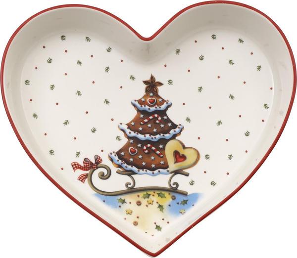 Villeroy & Boch Winter Bakery Delight Schale Herz