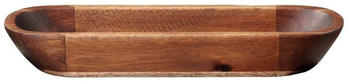 ASA ovale Schale akazie massiv 38 cm (braun)