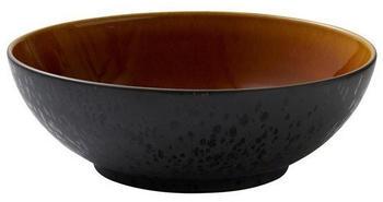 bitz-salatschale-30-cm-schwarz-amber