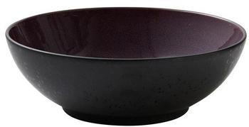 bitz-salatschale-30-cm-schwarz-lila