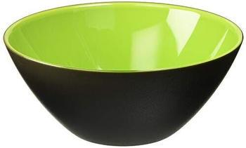 Guzzini My Fusion bowl 20 cm black/green