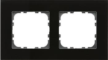 MDT Glasrahmen 2-fach Schwarz (BE-GTR2S.01)