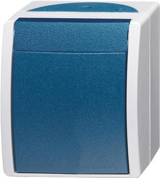 Busch-Jaeger Wippschalter, blau (2601/6 W-53)