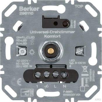 Berker Universal-Drehdimmer Kompfort (296110)