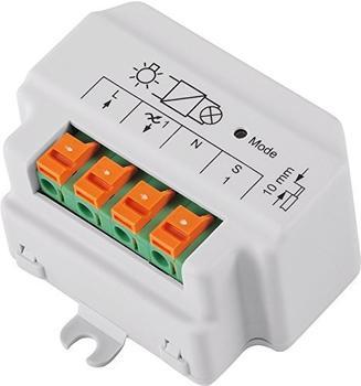 HomeMatic Funk-Dimmaktor 1-fach, Phasenabschnitt, Unterputzmontage (HM-LC-Dim1T-FM)