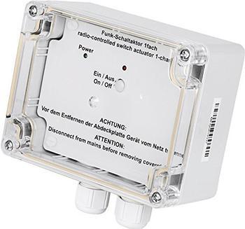 HomeMatic Funk-Schaltaktor 1-fach, Aufputzmontage (HM-LC-Sw1-SM)
