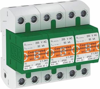 OBO Bettermann Mcd -B 3 Überspannungsableiter 150 kA 1St. (5096877)