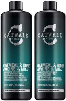 Tigi Catwalk Oatmeal & Honey Shampoo & Conditioner (750ml)