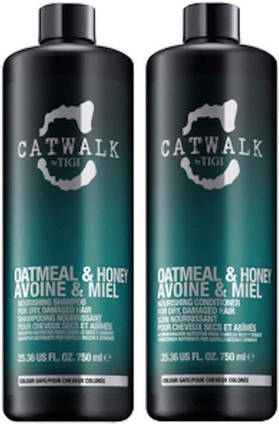 Tigi Catwalk Oatmeal & Honey Shampoo & Conditioner (750ml)