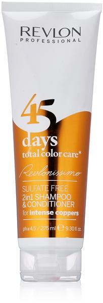 Revlon 45 Days Total Color Care Shampoo Intense Coppers (275ml)