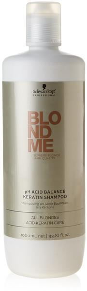 Schwarzkopf BlondMe Keratin Restore Blonde Shampoo (1000ml)