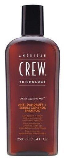American Crew Anti-Dandruff + Sebum Control Shampoo (250ml)