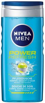 Nivea Men Power Refresh Pflegedusche Doppelpack, 2 x 250 Ml