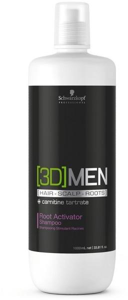 Schwarzkopf 3D Men Root Activator Shampoo (250ml)