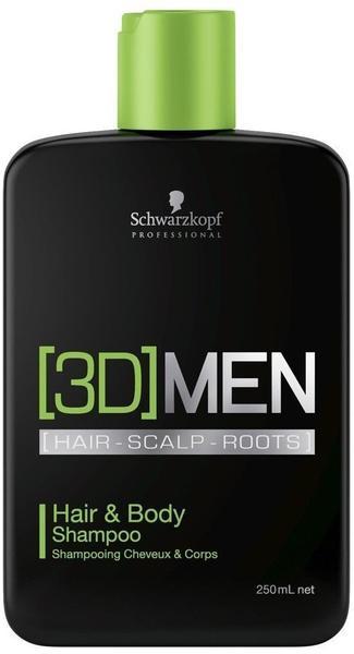 Schwarzkopf [3D]Men Hair & Body Shampoo (1000 ml)
