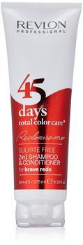 Revlon 45 Days Total Color Care Shampoo Brave Reds (275ml)