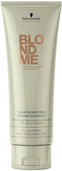 Schwarzkopf BlondMe Keratin Restore Blonde Shampoo (250ml)