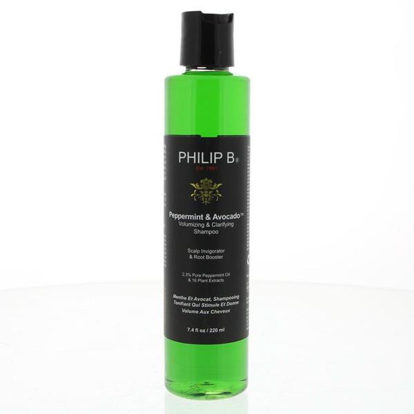 Philip B. Peppermint & Avocado Shampoo (220ml)