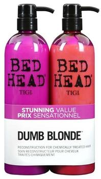 Tigi Bed Head Dumb Blonde 750 ml + Conditioner 750 ml Geschenkset