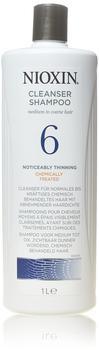 Nioxin System 6 Color Safe Cleanser Shampoo Step 1 (1000 ml)