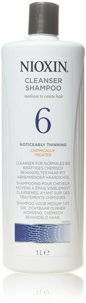 Nioxin System 6 Color Safe Cleanser Shampoo Step 1 (1000 ml)
