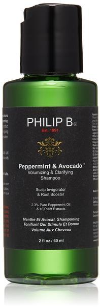 Philip B. Peppermint & Avocado Shampoo (60ml)