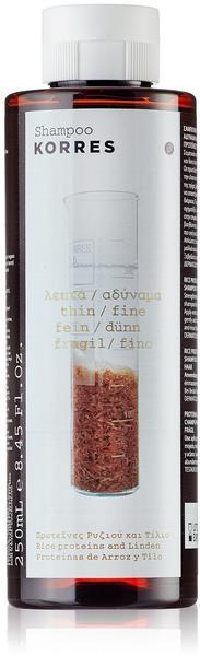 Korres Rice Proteins & Linden Haarshampoo (250ml)