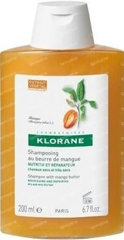 Klorane Shampoo Mangobutter (200ml)
