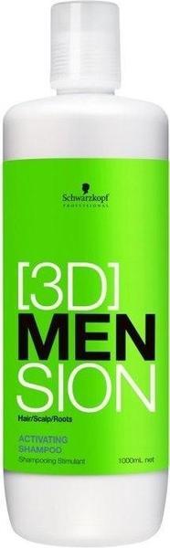 Schwarzkopf [3D]MenSion Activating Shampoo (1000ml)