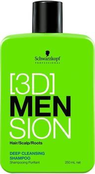 Schwarzkopf [3D]MenSion Deep Cleansing Shampoo (250ml)
