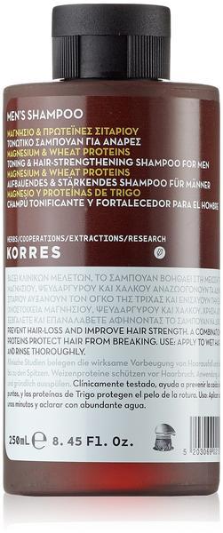 Korres Magnesium & Wheat Proteins Men's Shampoo (250ml)