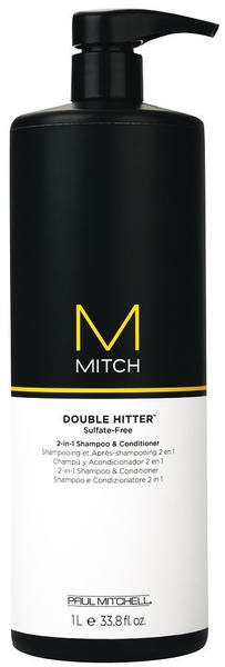 Paul Mitchell Double Hitter 2-in-1 Shampoo & Conditioner (1000ml)