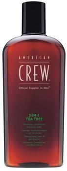 American Crew 3-in-1 Tea Tree Shampoo, Conditioner & Body Wash (450ml)