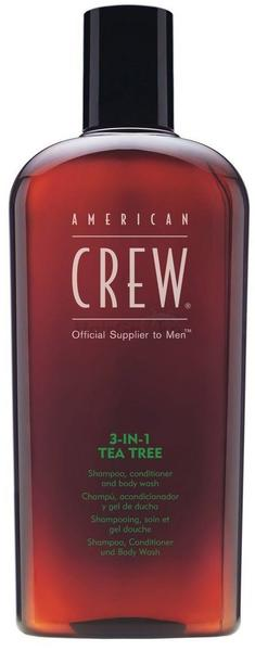 American Crew 3-in-1 Tea Tree Shampoo, Conditioner & Body Wash (450ml)