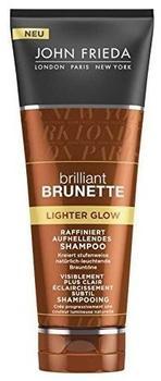 John Frieda Brilliant Brunette Lighter Glow Raffiniert Aufhellendes Shampoo (250ml)