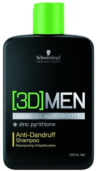 Schwarzkopf Professional 3D Men Anti-Dandruff 250 ml